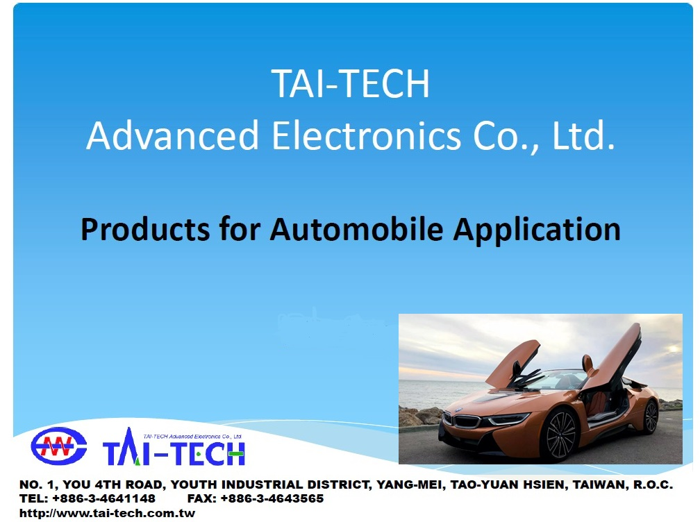 Products for Automobile Application